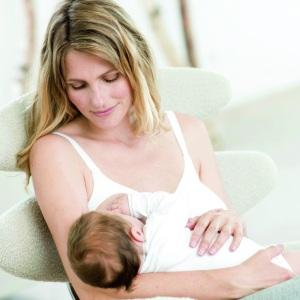 Cantaloop White Nursing Bra- Mother Nursing